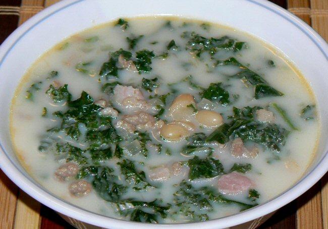Name:  092012_sausage_kale_bean_soup_P1090589.JPG Views: 59 Size:  123.6 KB