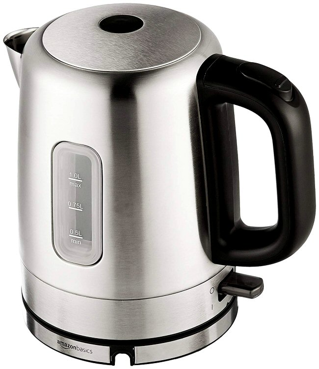 Name:  AmazonBasics Stainless Steel Electric Kettle - 1-Liter.jpg