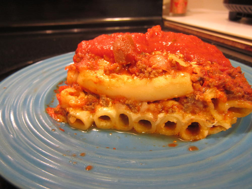 Name:  Baked Ziti plated.jpg Views: 40 Size:  97.2 KB