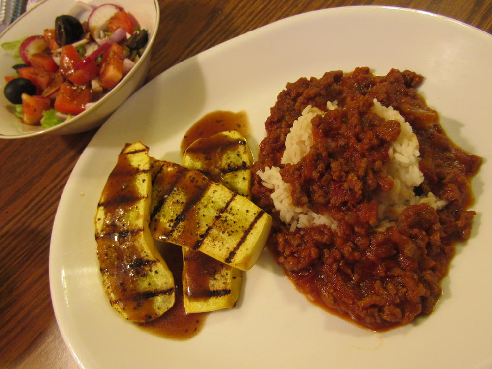 Name:  Beef (Burger) BBQ ove Rice.jpg Views: 68 Size:  101.0 KB