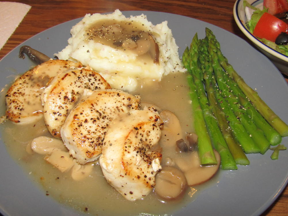 Name:  Chicken Breast, Mushroom Gravy.jpg Views: 91 Size:  105.0 KB