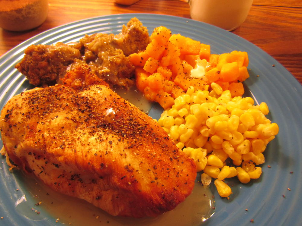 Name:  Chicken Breast, Stuffing, Butternut&Corn.jpg Views: 101 Size:  127.1 KB