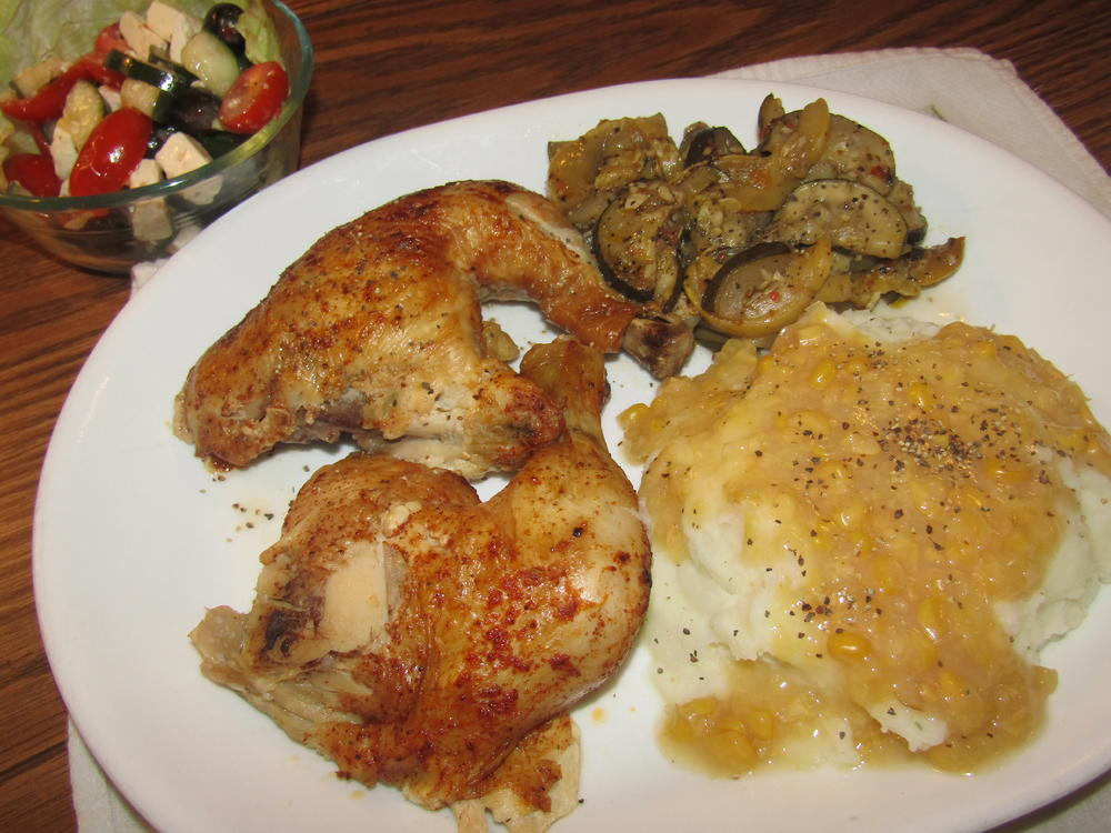 Name:  Chicken, rotisserie, Med Salad.jpg