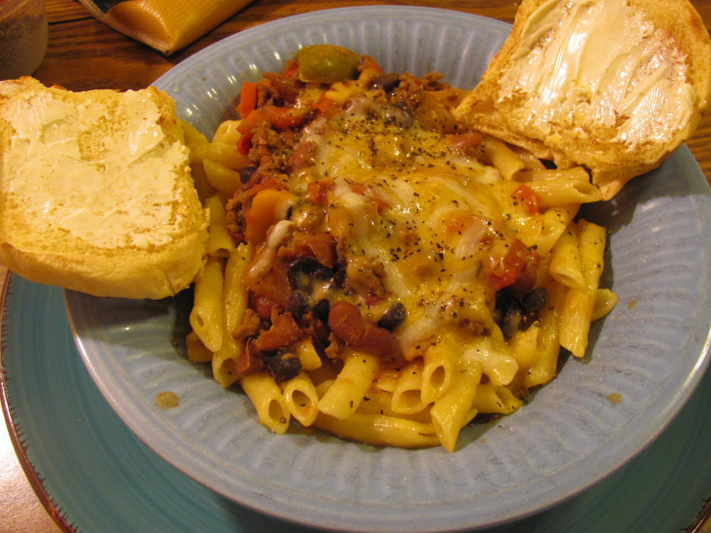 Name:  Chili-Penne & Cheese.jpg