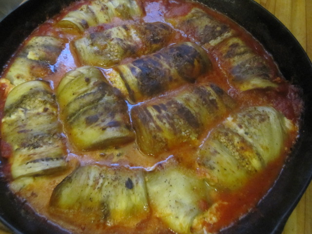 Name:  Eggplant involtini 4 - broiled.JPG