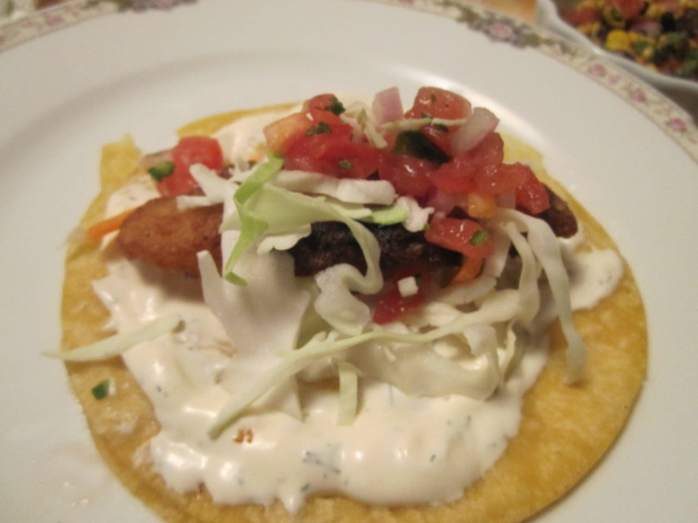 Name:  Fish tacos 2 - topped fish.JPG
