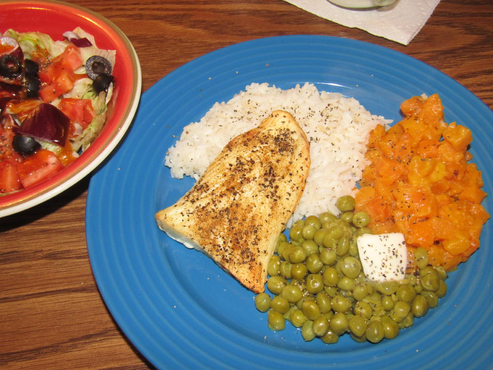 Name:  Halibut Filet, Buternut Dice.jpg