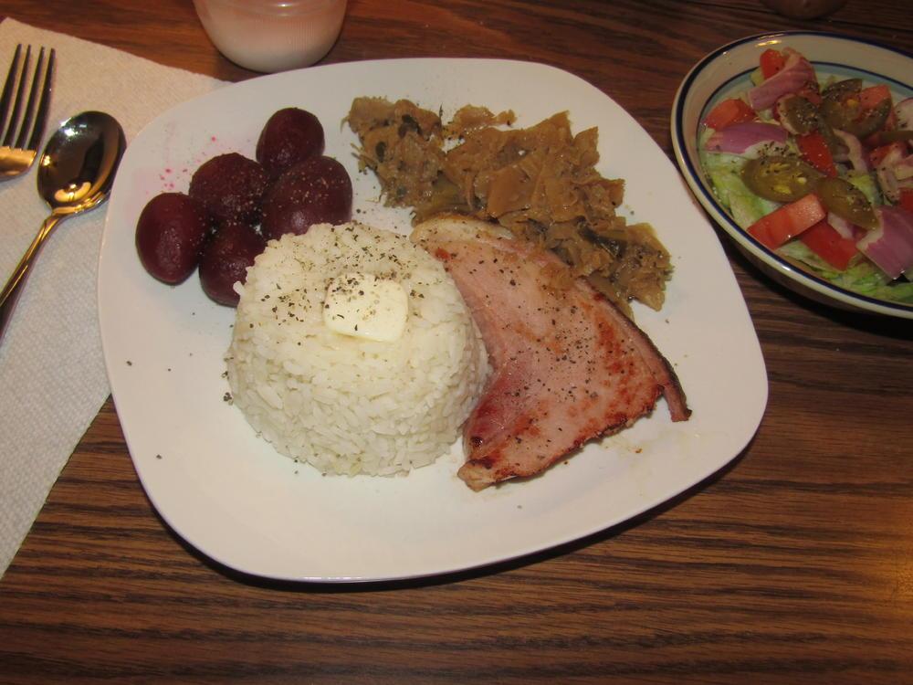 Name:  Ham Steak, Cabbage, Beets.jpg Views: 75 Size:  95.5 KB