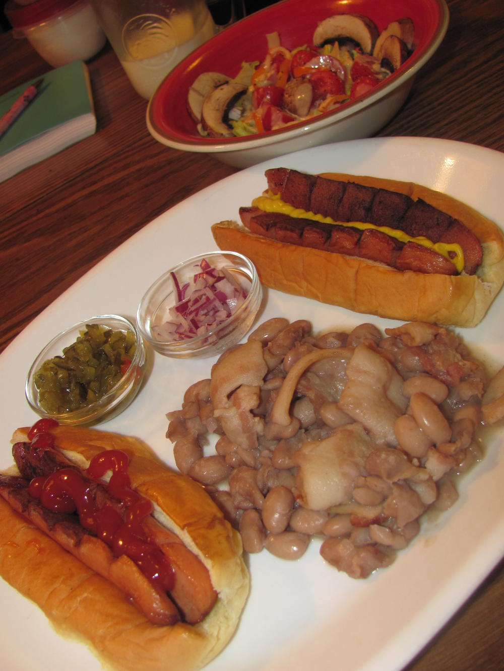 Name:  Hot Dogs and Beans.jpg Views: 78 Size:  143.6 KB