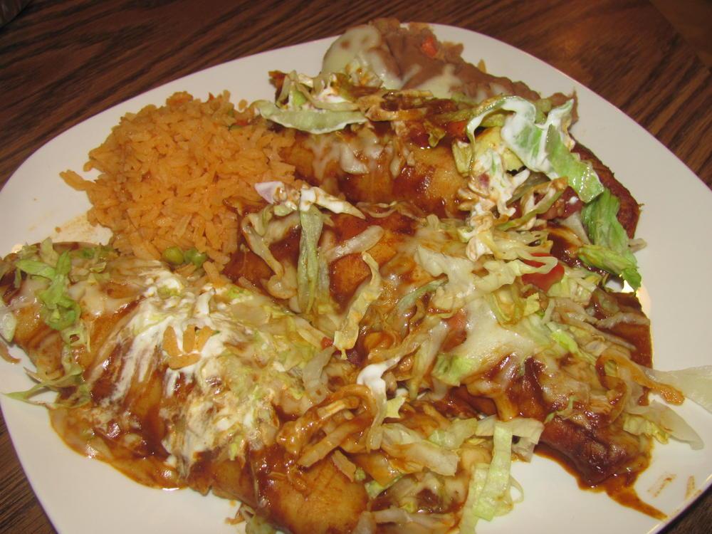 Name:  La Choza Enchiladas Rancheras .jpg Views: 39 Size:  121.0 KB