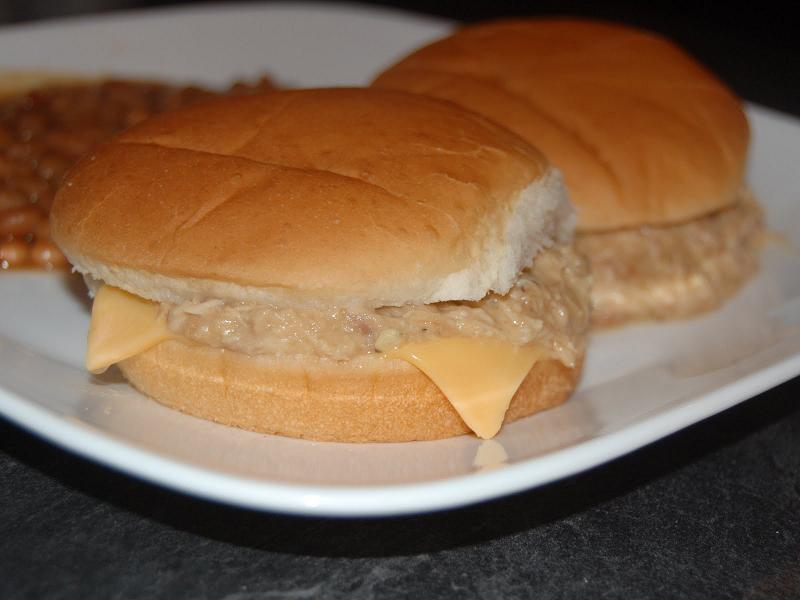 how to make chicken sandwich with mayonnaise pinoy style