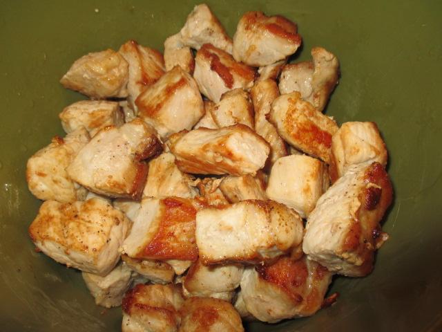 Pork cubes, browned.JPG