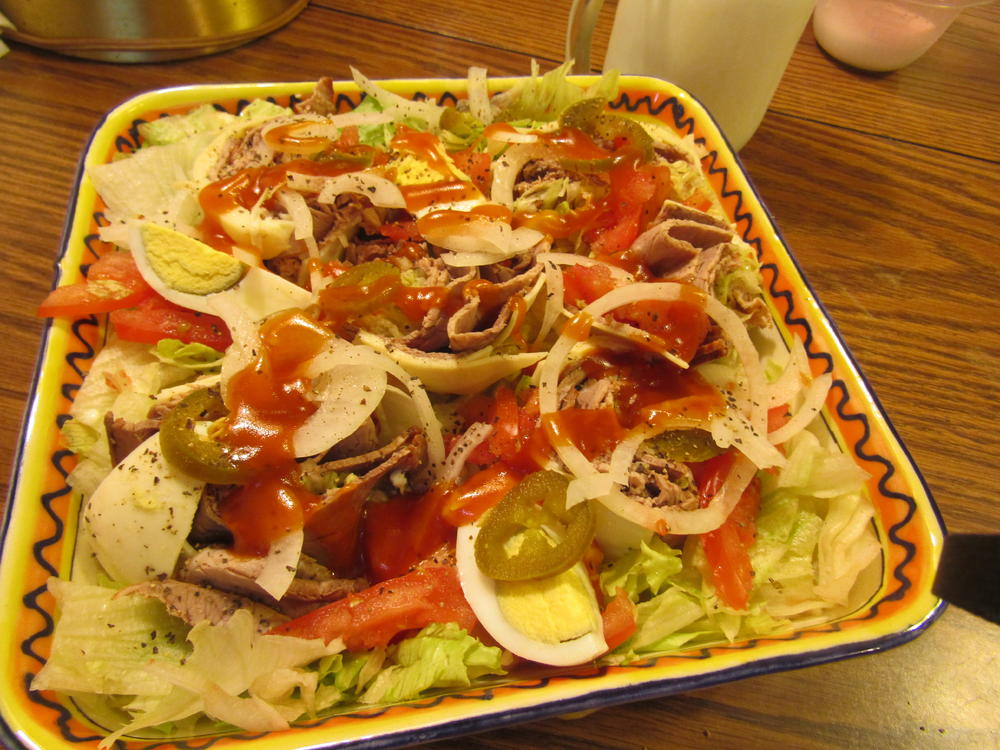 Name:  Salad, The BIG one....jpg Views: 58 Size:  140.0 KB