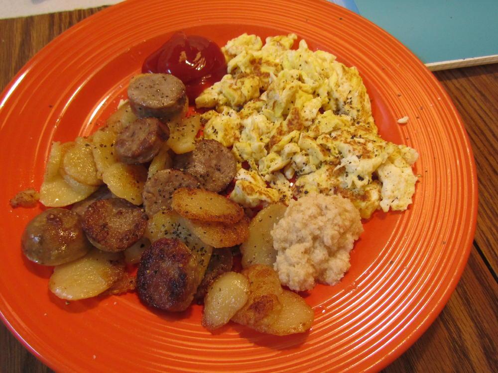 Name:  Sausage & Eggs.jpg Views: 82 Size:  133.6 KB