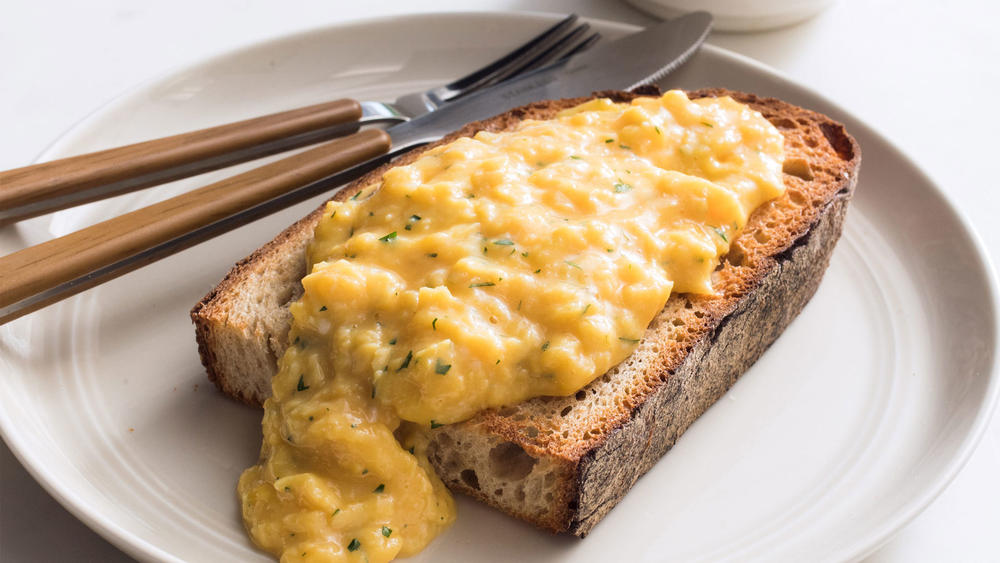 French Style Creamed Eggs