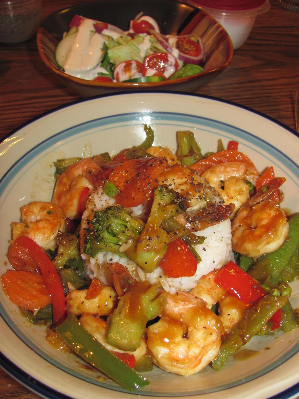 Name:  Shrimp, Peanut Sauce Stir Fry.jpg Views: 86 Size:  187.1 KB