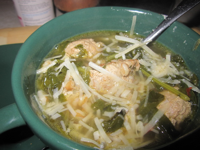Name:  Turkey meatball and kale soup.JPG