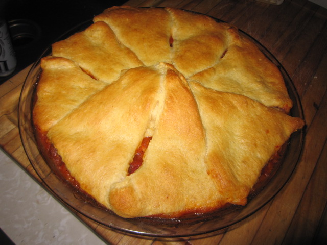 Name:  Tuscan pie 3, out of oven.JPG