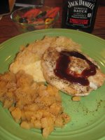 Pork Loin Chop, baked, with Bacon-Mashed Potatoes, Sauerkraut and Diced Rutabaga's.jpg