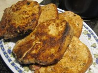 Pork Chops Majestic, 1 browned chops.JPG