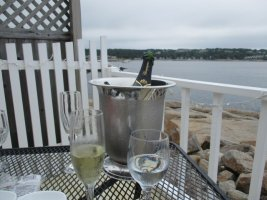 Champagne bucket, My Place by the Sea, July 2021.JPG